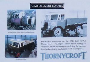 Thornycroft 'Nippy' information poster